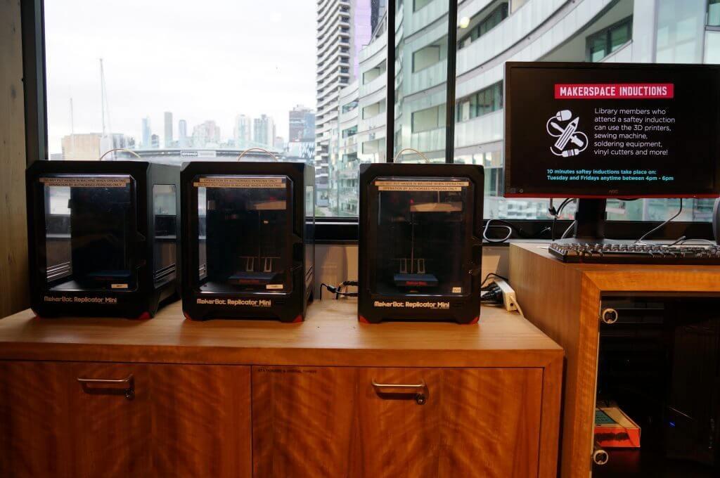 3Dプリンターが3台