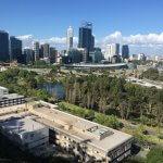 Perthの街並み