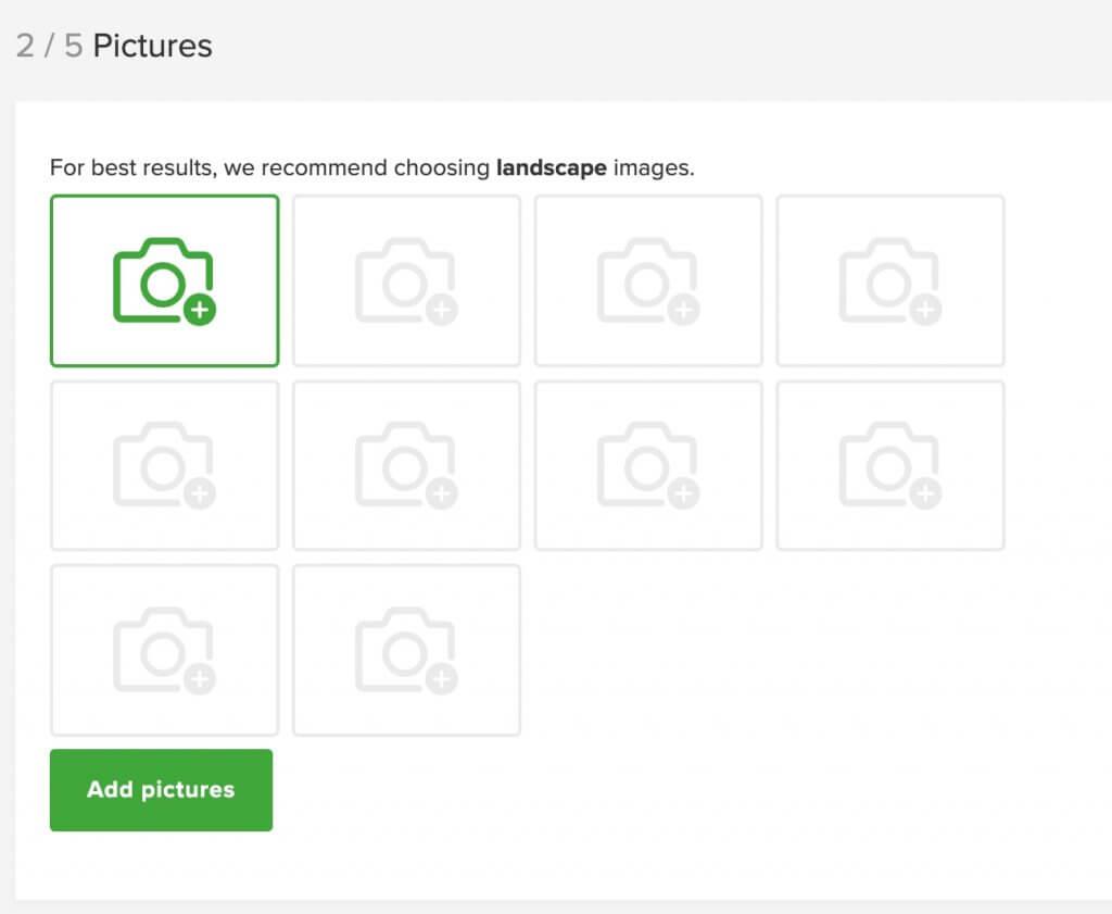Gumtreeの画像登録