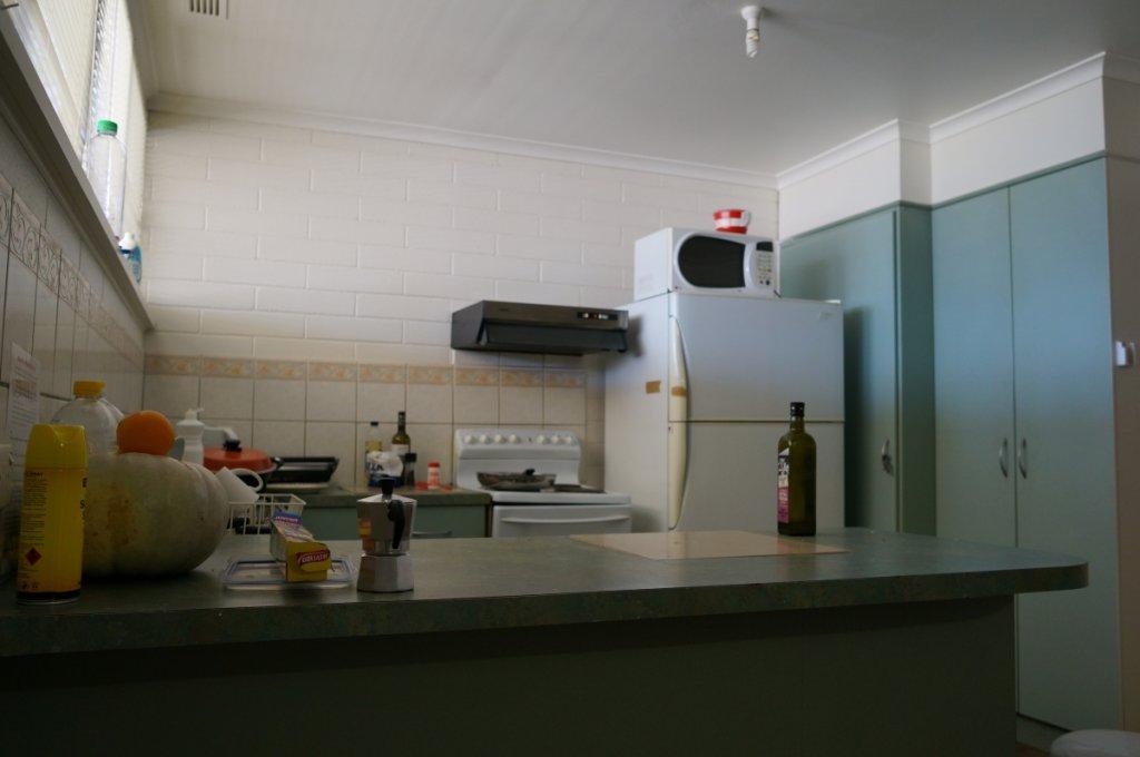 バックパッカーのキッチン