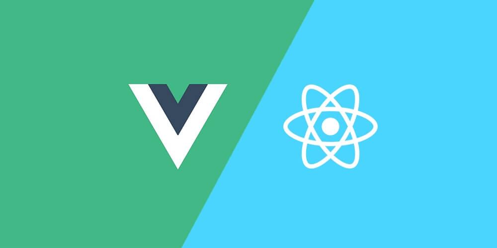ReactかVueというJavaScriptのフレームワークを覚える